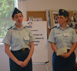Oliver Air Cadets